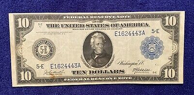 1914 $10 Richmond Federal Reserve Note Fr# 920