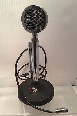 Astatic D-104 Microphone With T-UG8 Stand CB Ham Radio