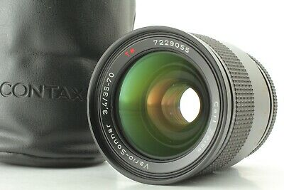 [EXC+5] Contax Carl Zeiss Vario-Sonnar T* 35-70mm f/3.4 MMJ MF from JAPAN