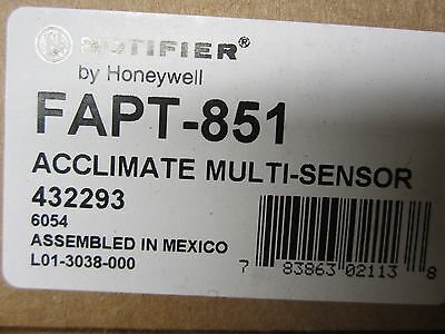 Notifier FAPT-851 Photo Smoke Detector Lot of 2