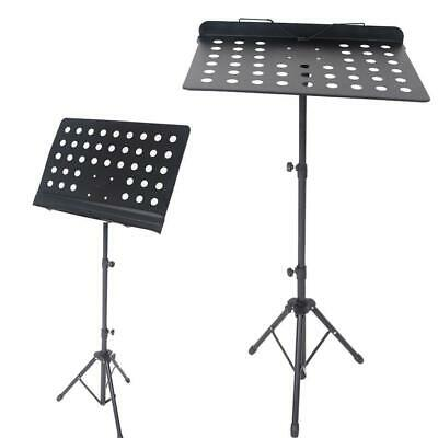 New Professional Conductor Music Stand Holder Sheet Holder Mount Folding Stage