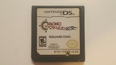 Authentic Chrono Trigger Nintendo DS Video Game 2008