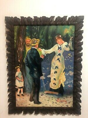 Pierre Auguste Renoir Artist Oil Painting On Canvas Framed 25 X 33'' B