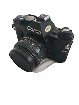 Canon AE-1 Program 35mm Film Camera, with 50mm lens