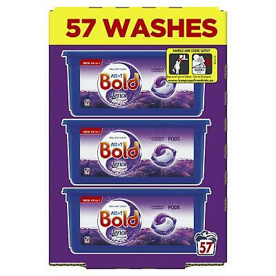 Bold All in 1 Pods Lavender & Camomile Washing Liquid Capsules, 57 Fresh Washes