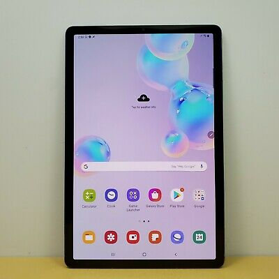 Samsung Galaxy Tab S6 10.5in SM-T860 128GB Wi-Fi Android Tablet - Mountain Gray