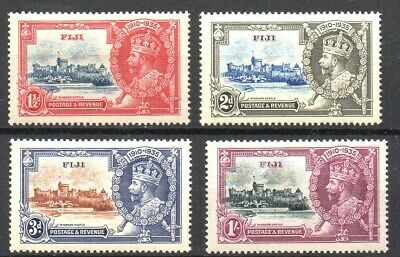 Stamps. Br. Commonwealth. Fiji. 1935 KGV Silver Jubilee Set. SG242/245 M/M (4)