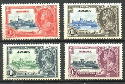 Stamps Br. Commonwealth Jamaica 1935 KGV Silver Jubilee Set SG114/117 M/M (4)