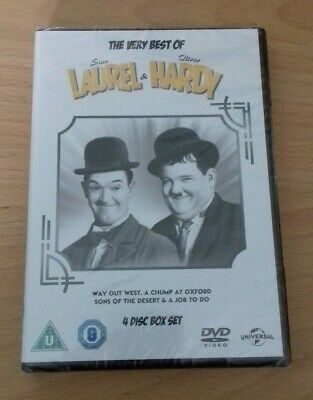 The Very Best of Laurel & Hardy [DVD] 2015 Genuine Region 2 UK [NEW & SEALED]