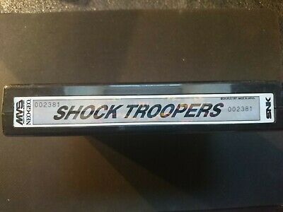 Neo geo MVS SNK SHOCK TROOPERS , top Condition tested and 100% Working