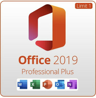 Microsoft Office 2019 Professional Pro Plus Orignal License Key Code