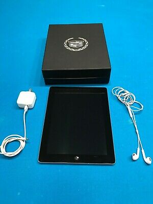 Apple iPad 4th Generation 16GB, Wi-Fi, 9.7in - Black Model A1458. Cadillac
