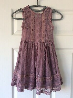Girls Next Dress, Lilac, Lined Age -6 Years