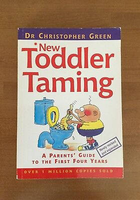 New Baby Toddler Taming Book By Christopher Green
