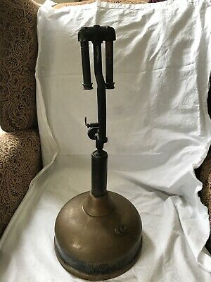 vintage 1940s COLEMAN Lantern Co Canada Quick-Lite GAS Table LAMP
