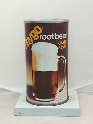 Nice 70's Faygo Root Beer Soda Can