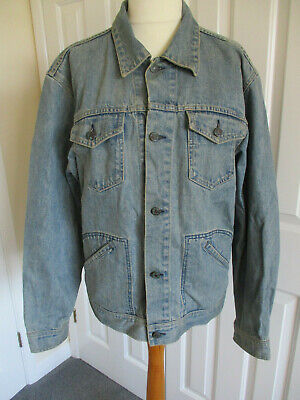Gap Jeans, Light Blue Wash, Mens Denim Jacket - Size XL/TG