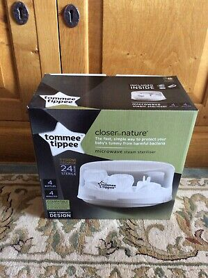 Tommee Tippee Closer to Nature Microwave Steam Steriliser Never been used