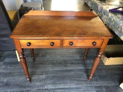 Victorian Side Table Or Small Writing Desk Some Restoration Needed