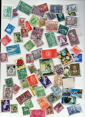All World Kiloware 125 gms Off Paper stamps