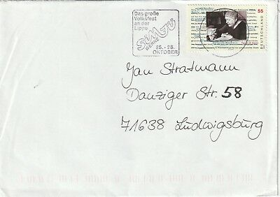 2003 Germany cover to Ludwigsburg
