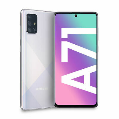 SAMSUNG Galaxy A71 Silver - Dual SIM - 128 GB - Display 6,7 '' - Android 10