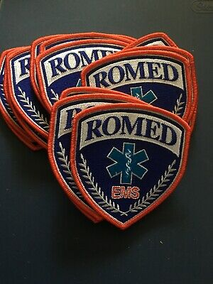 Lot Of 20 Romed EMS Patches