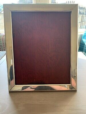 A very large Antique Silver Photo frame c1920