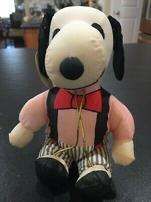Whitman's Valentine Snoopy with Tag (6 inches tall)