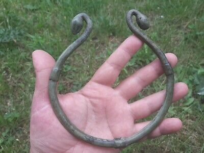 "Ancient Celtic Bronze TORQUE ""Bronze Age""  Female Necklace"
