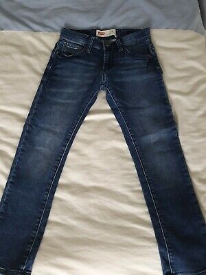 Childrens LEVIS JEANS 510 Skinny Jeans size child 8yrs