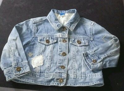 Adams Girls Denim Jacket Age 3 Years