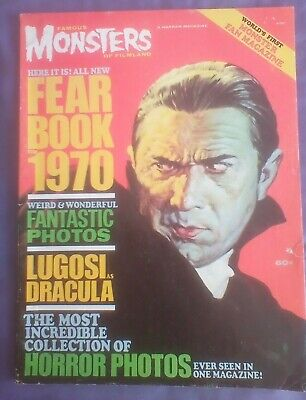 Famous Monsters of Filmland Fearbook 1970-Rare