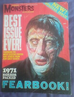Famous Monsters of Filmland Fearbook 1971-Best Ever Issue-Secial Issue