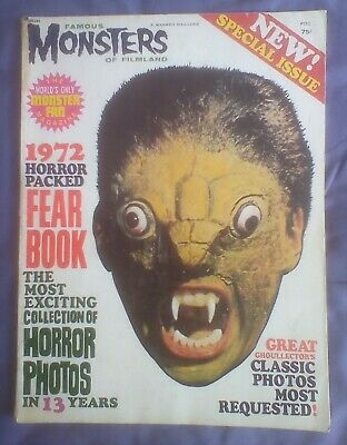 Famous Monsters of Filmland Fearbook 1972-Special issue .