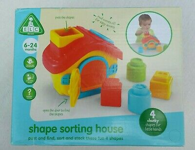 ELC Shape Sorting House Educational Baby Toy by Early Learning Centre. BNIB.