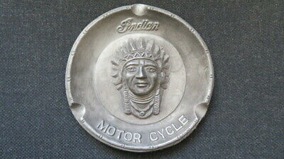 INDIAN MOTORCYCLE ADVERTISING ASHTRAY NICE, Reproduction