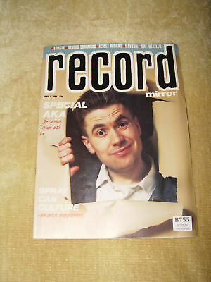 Vntg Record Mirror Magazine 7 April 1984 - Special Aka Beatles Icicle Works