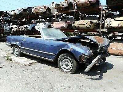 1972 Mercedes-Benz SL-Class No Reserve Sold on CA Acquisition Bill of Sale 1972 Mercedes 350SL Project Car for Parts or Restoration No Reserve 350 SL 107 4