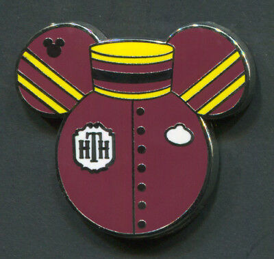 Disney Pin TOWER OF TERROR Hidden Mickey WDW Cast Member Costume Collection