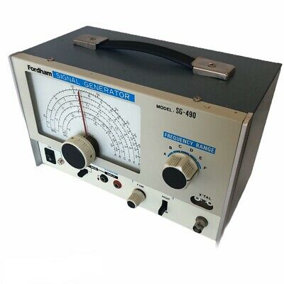 FORDHAM SIGNAL GENERATOR WIDE BAND - 1 Probe 1 Connector