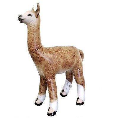 "Jet Creations Inflatable Alpaca Height Party Favors Supplies Gifts, 30"" Stuff..."