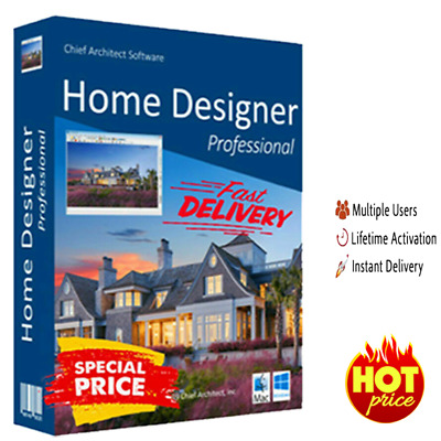 Chief Architect Home Designer Pro 2020 ✔️ Lifetime License 🔥 Fast DELIVERY