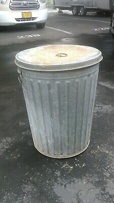 New York Art Deco Vintage style garbage can neat addition to that urban style