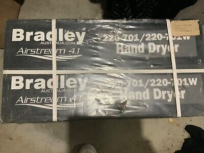 Bradley hand dryer Air Stream 4.1  220-701