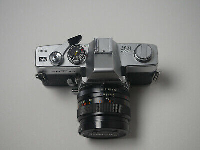Minolta SRT-101 35mm SLR w/lenses MINT (#053020-1)