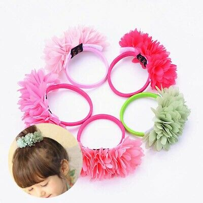 Hair Bands Multi-layer Flower Elastic Accessories Girls Kids Clips Elastic
