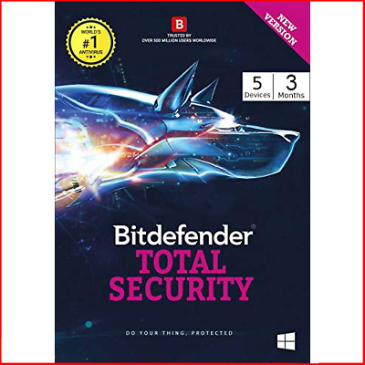 📱 💻Bitdefender Total Security 2020 | 3 - 6 Months 5 Devices 📱💻