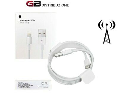 Cavo Caricatore Lightning Carica Batterie Iphone 7 8 X Xs Xr