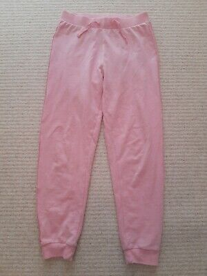 Mint Con Girls Pink Joggers Jogging Bottoms Trousers Sz 10-11 Yrs George
